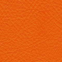 Mandarin Orange Leather